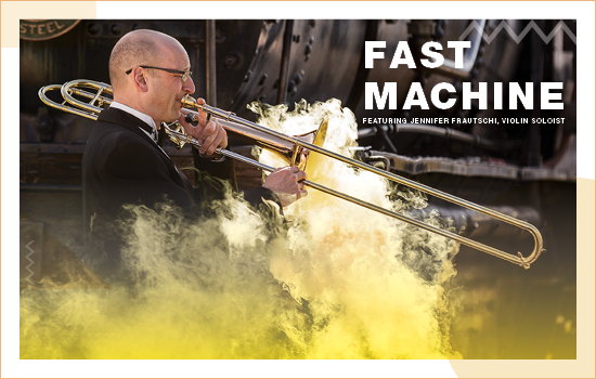"The Missoula Symphony Presents ""Fast Machine"" Sep. 24 & 25."