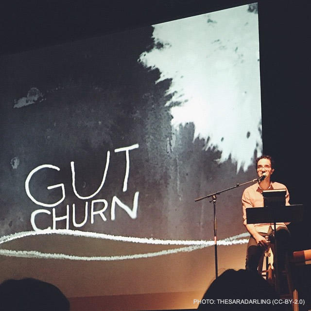 "Radiolab's Jad Abumrad will be in Missoula Oct. 23 with his show about ""Gut Churn."""