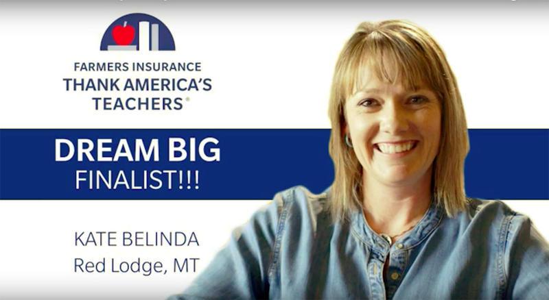 Red Lodge High School Science Teacher Kate Belinda