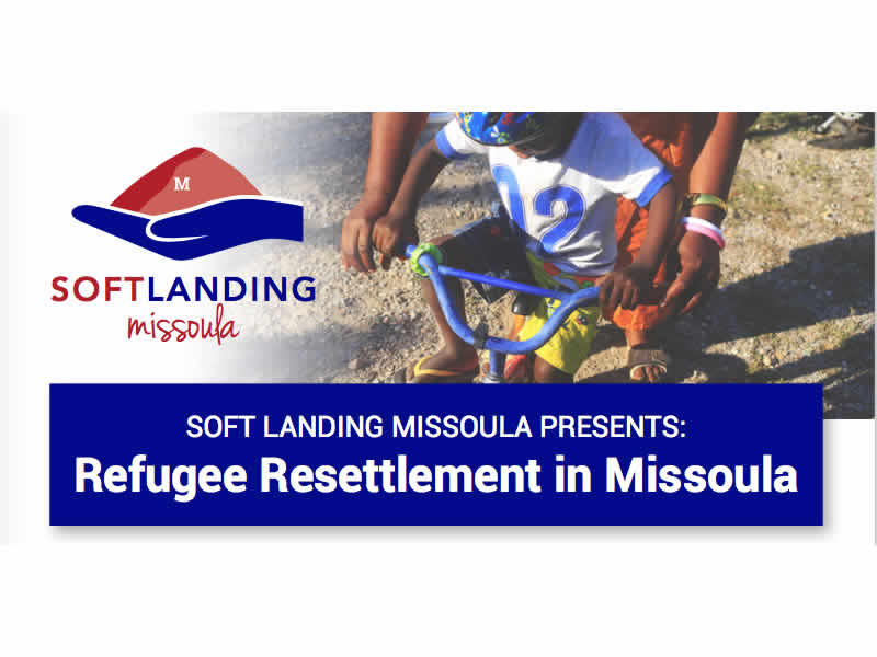 """Refugee Resettlement in Missoula"" is Soft Landing's second lecture. The forum was Tuesday, November 1, from 6:00 - 8:00 p.m. in Urey Lecture Hall on the University of Montana campus. It was free and open to the public."