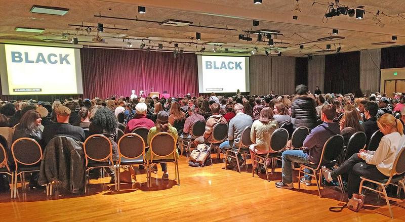 Nearly 1,000 people came to UM to see Patrisse Cullors of Black Lives Matter,  Nov. 2, 2016