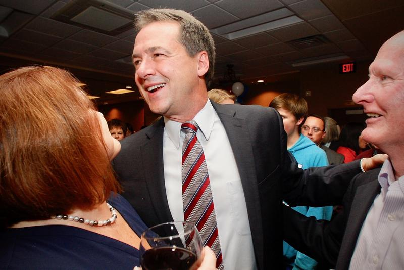 Gov. Bullock was one of the few Montana Democrats celebrating on election night.