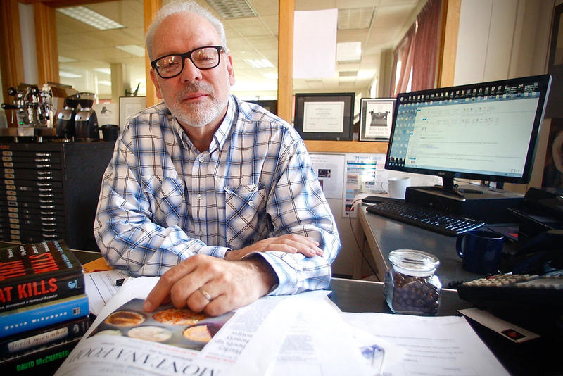 David McCumber, editor of the Montana Standard in Butte, MT.