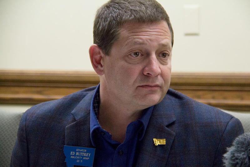 Republican State Senator Ed Buttrey.