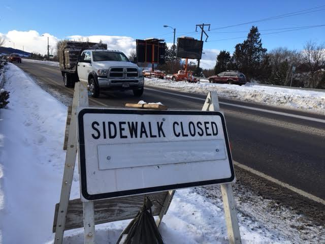 Starting Tuesday, January 3, construction crews will be temporarily squeezing one of Missoula's busiest bridges from four lanes down to two. Construction on the Madison Street Bridge is expected to finish in August 2017.