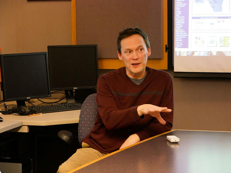 Marty Whitmore is the warning coordination meteorologist with the National Weather Service in Missoula.