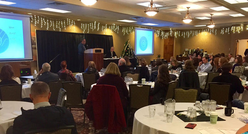 At a meeting convened by the Montana Medical Association, a health information technology expert from Oklahoma talked about how his state created a system to easily share patient data.