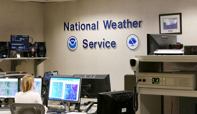 National Weather Service headquarters in Missoula, Montana.
