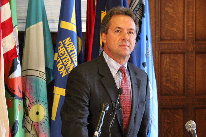Gov. Steve Bullock. File photo.