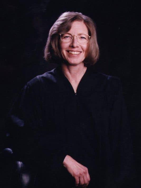 Karla Gray in 1999. Gray was Montana's first female Supreme Court Justice.