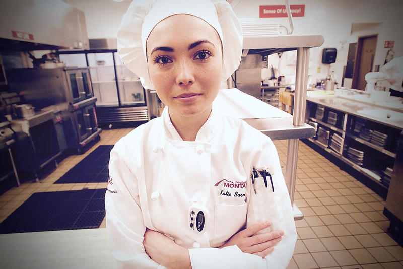 Last spring, Barnes took home the gold in a national culinary competition.  The 23-year-old is now setting her sights on another big win: This time at the American Culinary Federation's Student Chef of the Year competition.