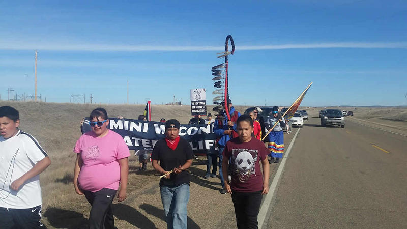 More than a dozen Fort Peck tribal members and veterans plan to traverse nearly 100 miles across the reservation to raise awareness about the potential dangers of the Keystone XL pipeline.