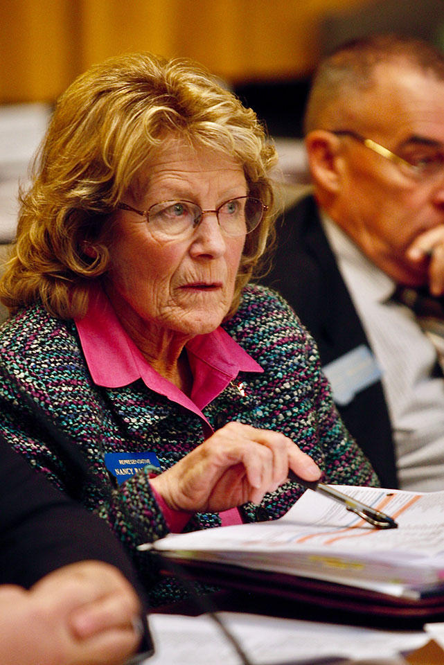 Rep. Nancy Ballance is the primary sponsor of the budget legislation.