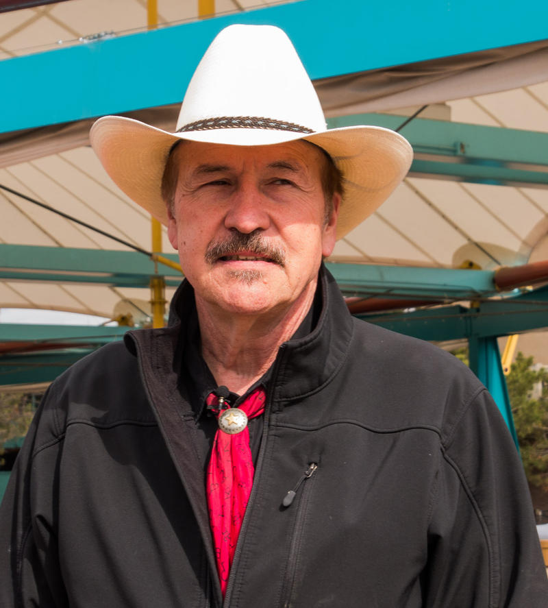 Rob Quist at a campaign stop at Caras Park in Missoula, March 22, 2017.
