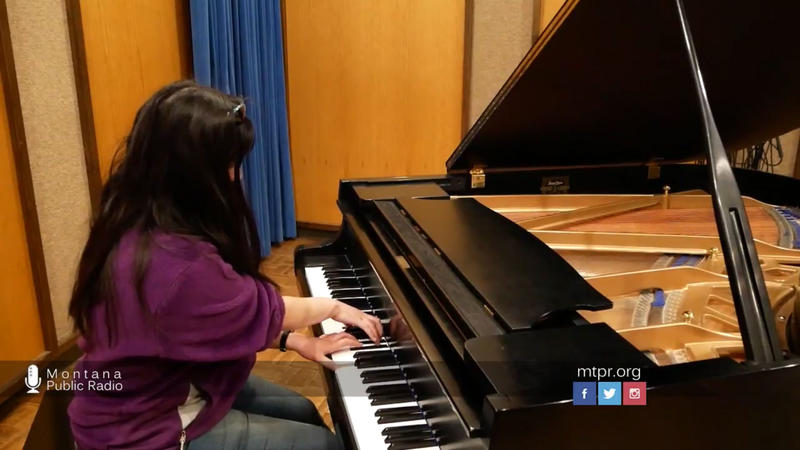 UM student Claire Wang plays Debussy's Feuilles Mortes (Dead Leaves) from the Preludes Book II, live on Montana Public Radio, April 05, 2017.