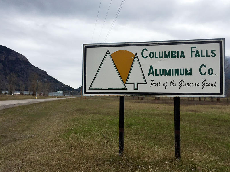 Outside of th CFAC Superfund Site in Columbia Falls.