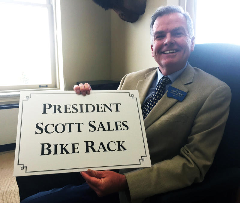 A legislative proposal by Senate President Scott Sales to slap a $25 tax on out-of-state bicyclists visiting Montana turns out to be a big joke, but it's going over like a lead ballon.