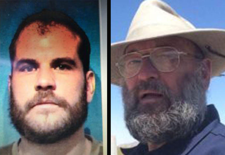 Marshall Barrus (L) was shot in the head and hospitalized yesterday. He died this afternoon in a Missoula hospital. Lloyd Barrus (R), was charged in Missoula County today.