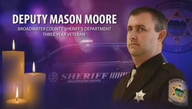 Hundreds of first responders, friends and family attended a memorial service Tuesday for Broadwater County Sheriff's Deputy Mason Moore in Belgrade.