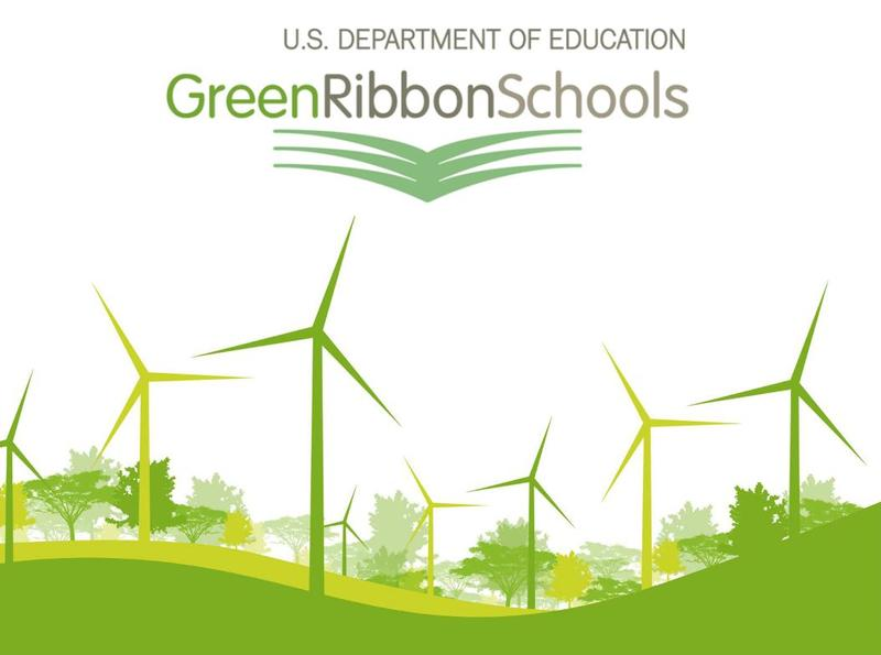 The U.S. Department of Education's Green Ribbon Schools award recognizes individual schools and entire districts for reducing environmental impact and costs; improving health and wellness; and offering effective environmental education.