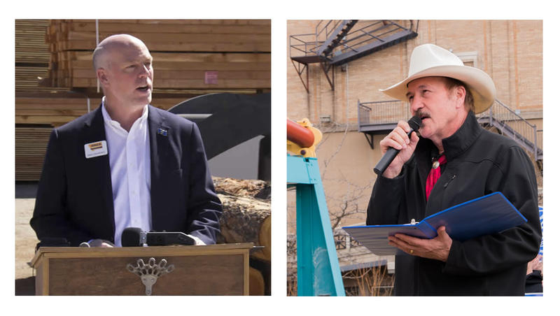 Republican Greg Gianforte, left, and Democrat Rob Quist