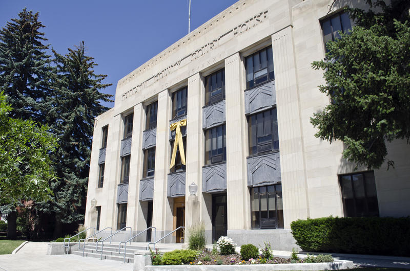 Gallatin County Court House in Bozeman, MT.