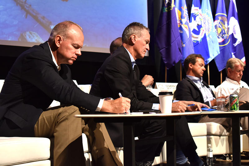 Wyoming Governor Matt Mead (center) has spearheaded a review of species conservation and the Endangered Species Act for the Western Governors Association since 2015.