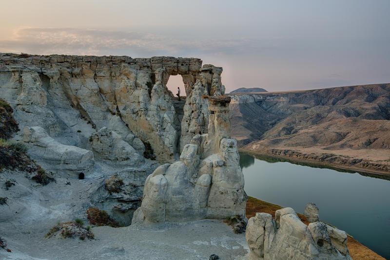 Upper Missouri River Breaks National Monument in central Montana