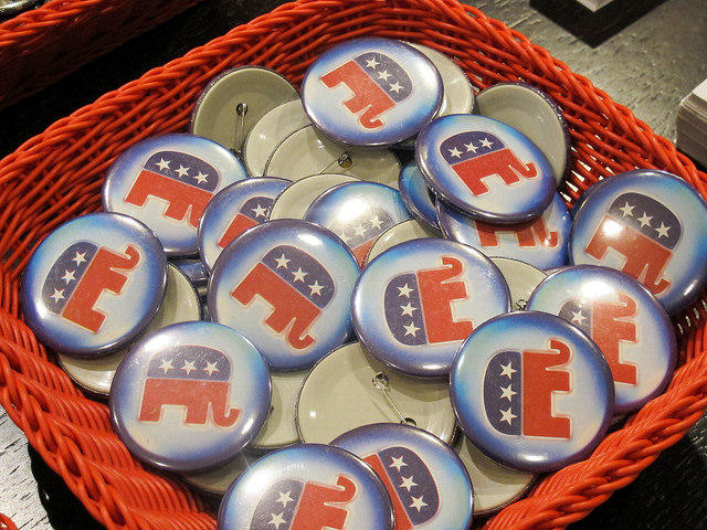 Montana Republican Party buttons