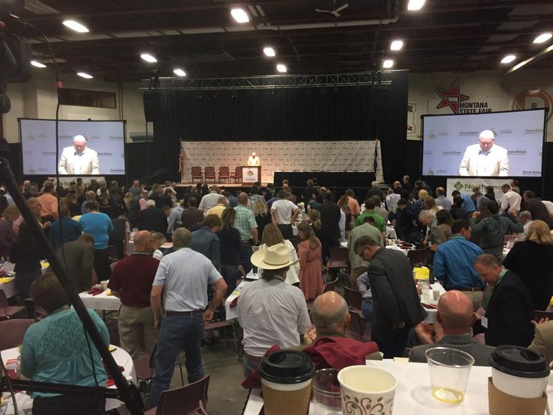 """""""We're not going to roll over every time someone says 'boo' about us wanting to harvest timber to make a healthy forest,"""" U.S. Agriculture Secretary Sonny Perdue said at a agriculture summit in Great Falls, MT July 1, 2017."""