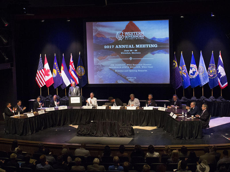 Governors from the western U.S. converge on Whitefish this week for the annual Western Governors Association.