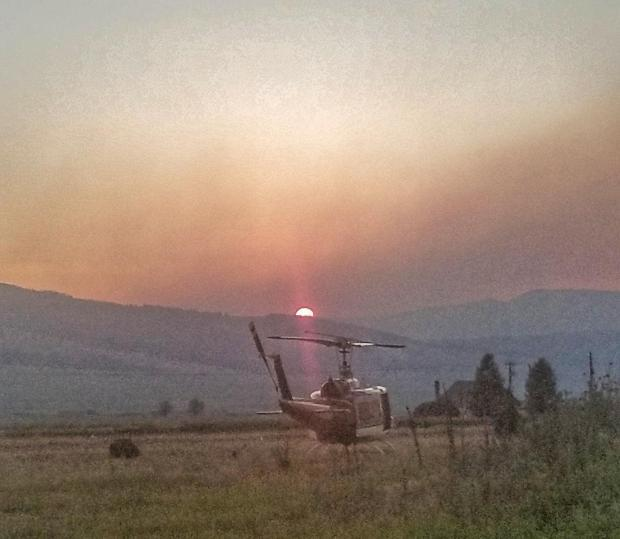 From the Goat Creek Fire incident management team