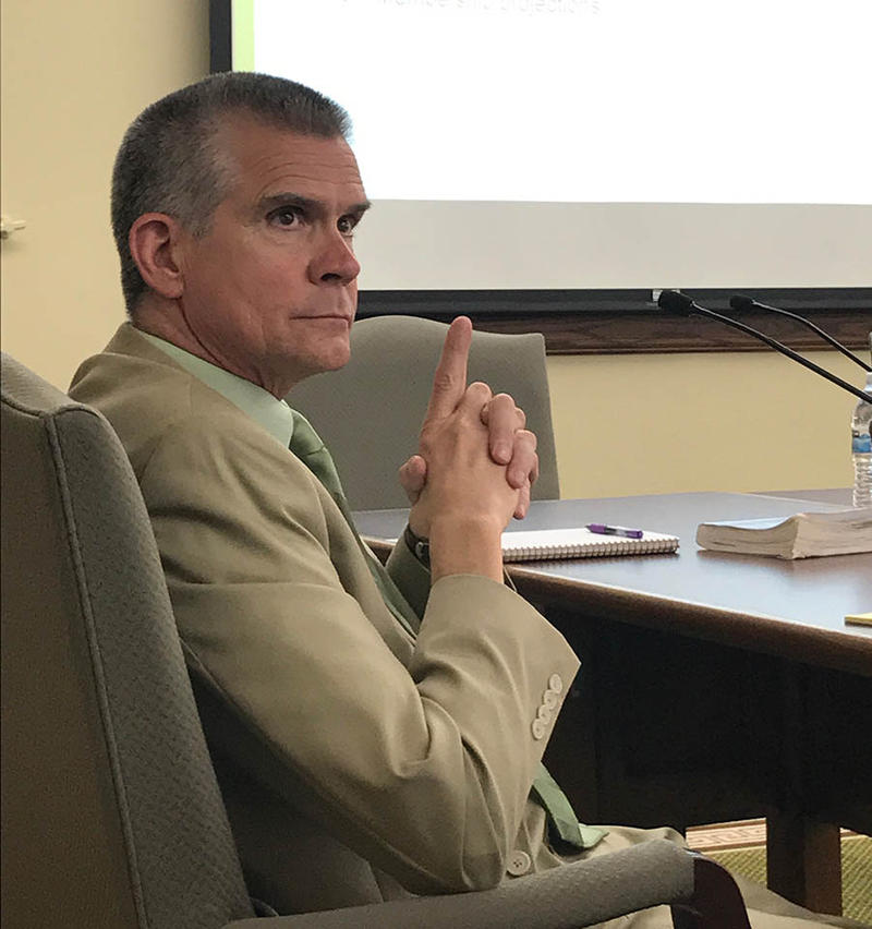 Matthew Rosendale, Montana's Commissioner of Securities and Insurance