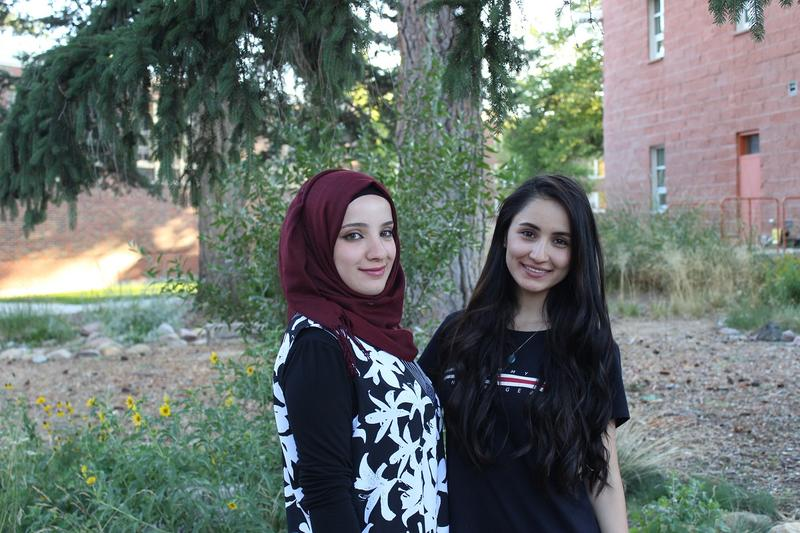 Taif Salam and Carez Zozik are two of the 25 students participating in the Iraqi Young Leaders Program at UM.