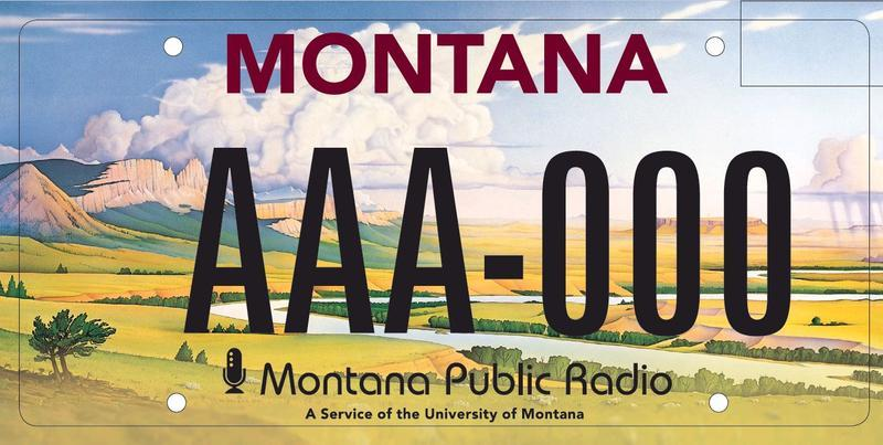 Get your MTPR specialty plate today.