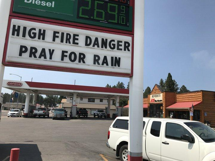 Rovero's gas station and hardware store was abuzz with activity Tuesday