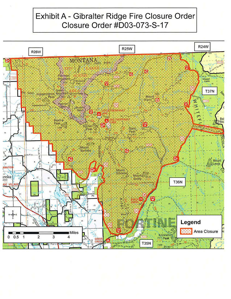 Lincoln County Montana Map.Lincoln County Mtpr