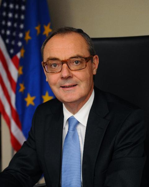 David O'Sullivan EU ambassador to the United States.