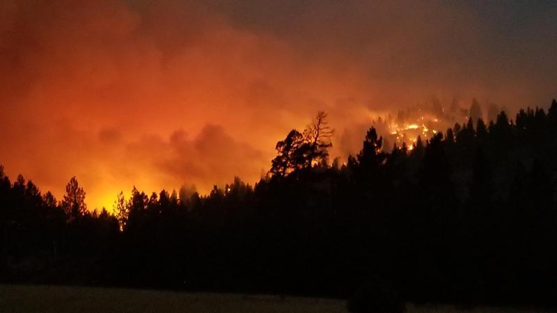 Alice Creek Fire