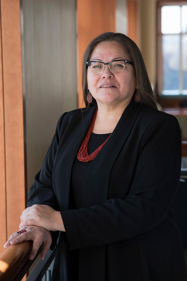 Teresa Brockie, the first Native American instructor to be on the faculty of the Johns Hopkins School of Nursing, was inducted this month as a fellow in the American Academy of Nursing.