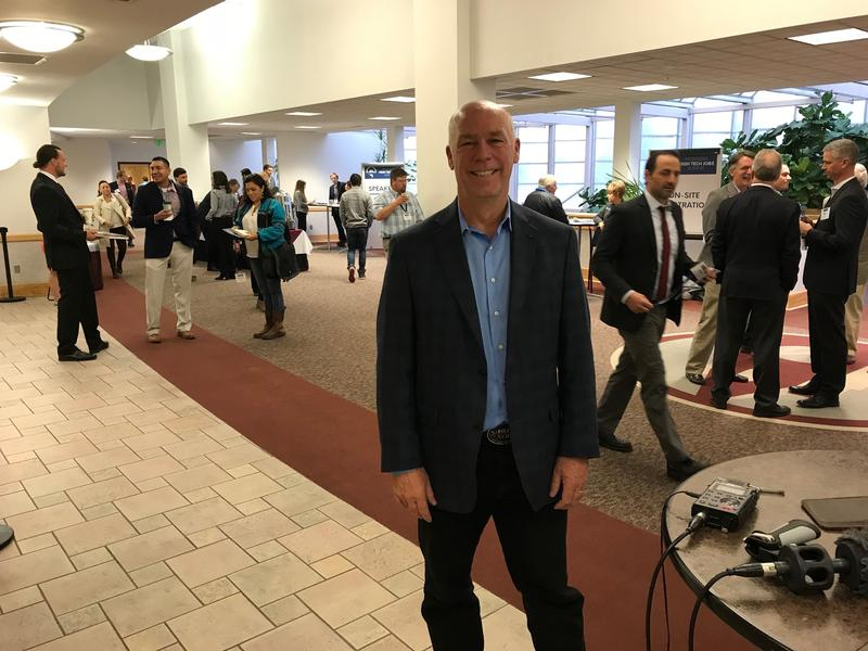 Gianforte at the High Tech Summit on Oct. 9 2017