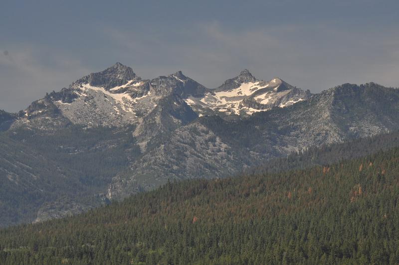Trapper Peak near Hamilton, Montana.