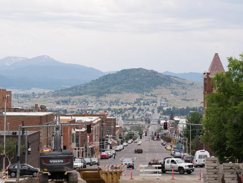 Uptown Butte, MT.