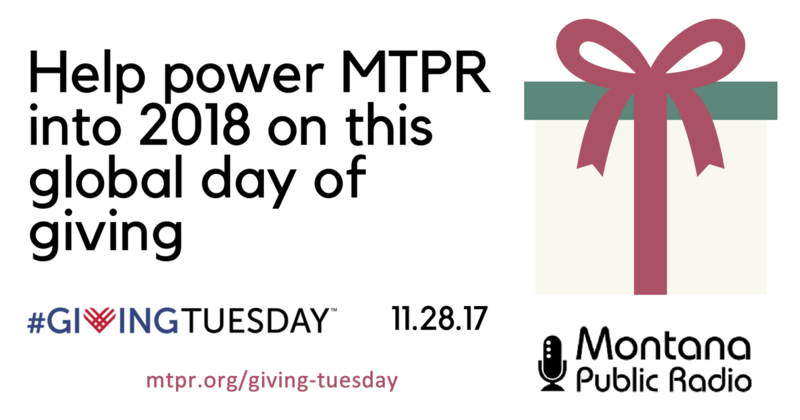 Your Giving Tuesday Donation Helps Power MTPR Into The Future