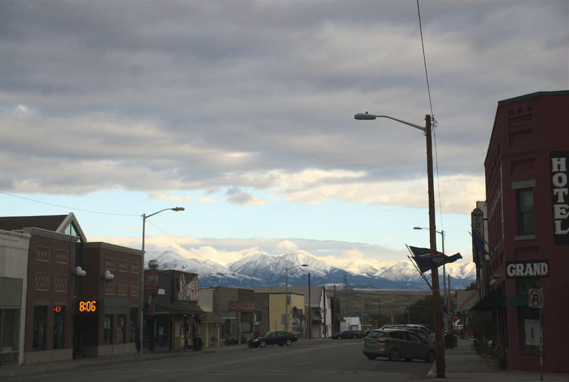 McLeod St. in Big Timber, MT.