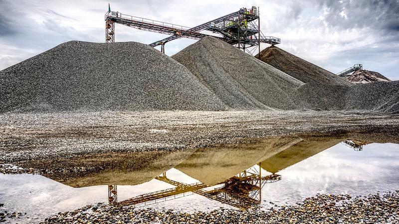 Gravel mine, file photo.