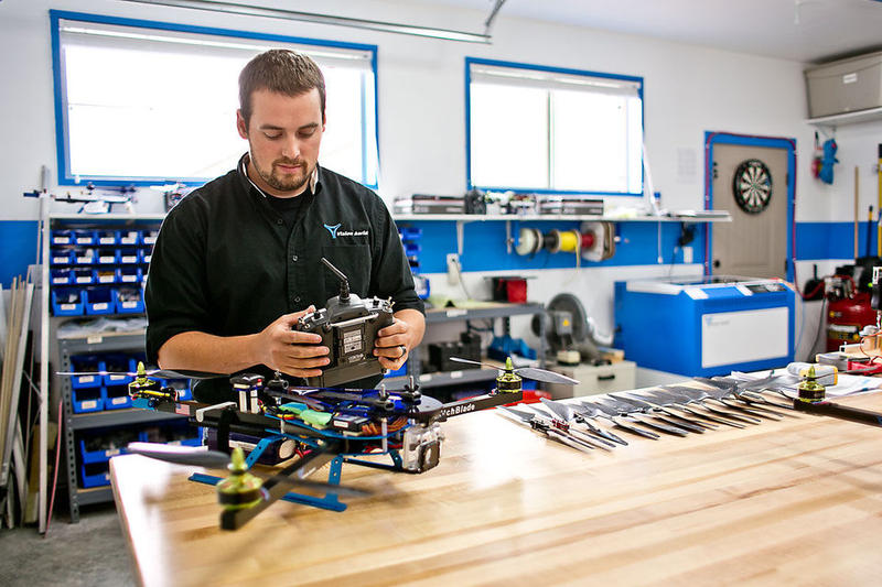Shane Beams is chief engineer and founder of Vision Aerial, a Montana company focused on designing and producing a new generation of affordable, commercial unmanned drones.