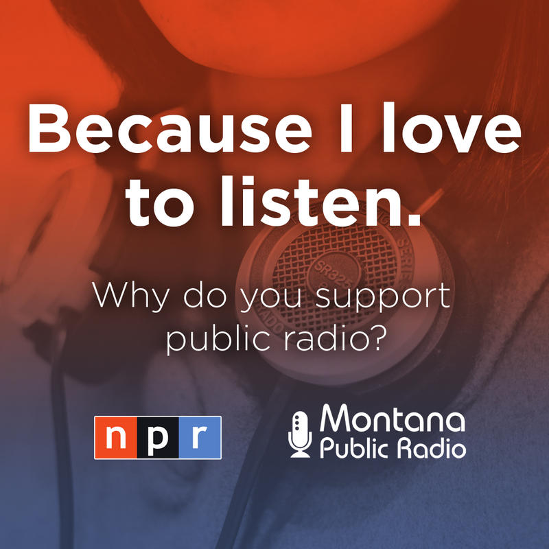 Why public radio? Because I love to listen.