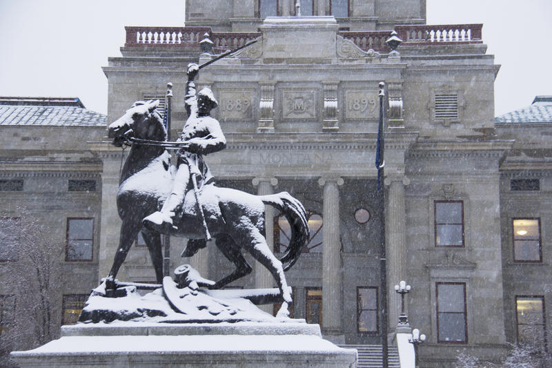 Montana state Capitol.