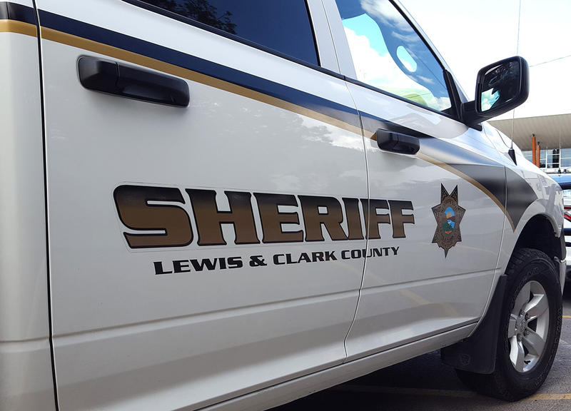 Lewis and Clark County Sheriff's department vehicle.
